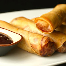 Crispy Pork and Cabbage Egg Rolls