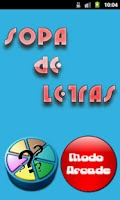 Screenshot of Sopa de Letras Trivial Español