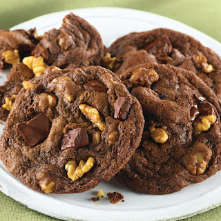 Double Chocolate Chunk Mint Cookies