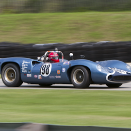 Lola T-70 by Chuck Brandt - Transportation Automobiles ( lola t-70 can am sports racing car )
