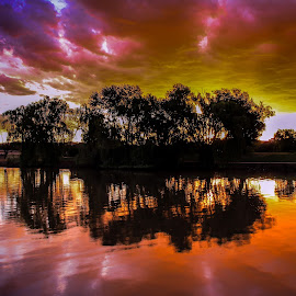 National Carillon in Canberra by Edward Luong - Landscapes Sunsets & Sunrises