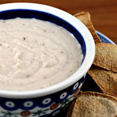 Curry, Feta, and Garlic Dip