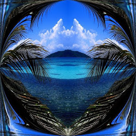 Tropical Dreams by Wendy  Walters - Digital Art Places