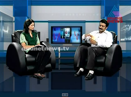 Screenshot of Asianet News Shows