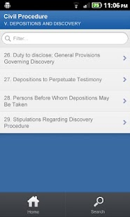 Patent Law - DroidLaw - screenshot