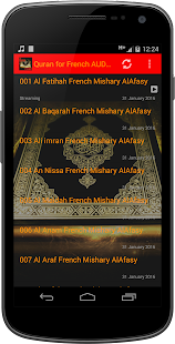 Quran for French AUDIO - screenshot