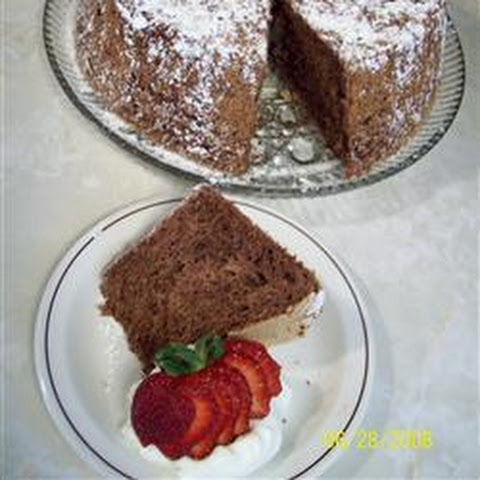 Low Fat Chocolate Sponge