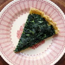 Sunday Brunch: Ham and Spinach Quiche