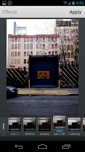 Aviary Effects: Street - screenshot