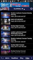Screenshot of Fox 2 Weather