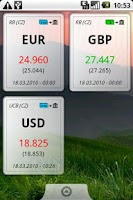 Screenshot of Currency Rates