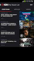 Screenshot of IGN Entertainment