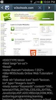 Screenshot of Show Code HTML Source Viewer