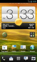 Screenshot of HTC Sense 4.0 (One X) Go Theme