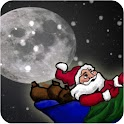 Flying Santa Live Wallpaper icon
