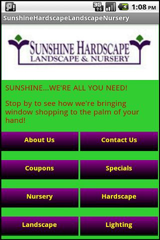 Sunshine Hard. Land. Nursery
