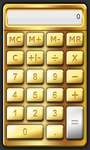 CoolCalc-Gold Silver