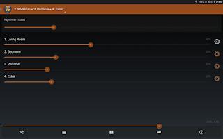 Screenshot of Macronos for Sonos