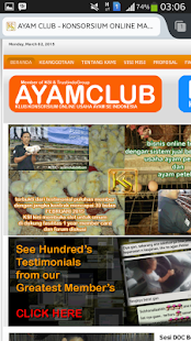 AyamClubDotCom Launcher - screenshot