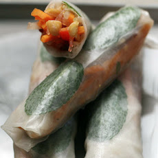 Summer Rolls with Sweet Chili Dipping Sauce