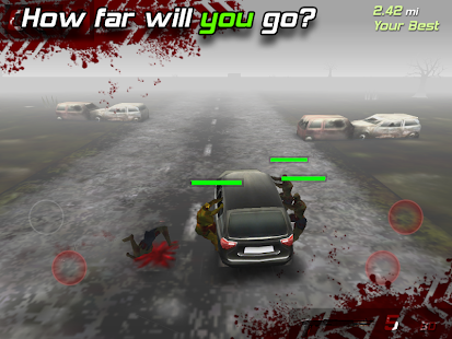 APK Game Zombie Highway for BB, BlackBerry
