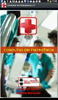 Screenshot of CONDUTAS EM EMERGÊNCIA