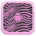 Pink Zebra Live Wallpaper icon