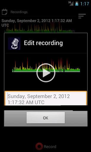 ProRecord音頻語音備忘錄
