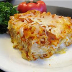 Cheese Lasagna