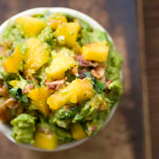 Peach And Bacon Guacamole