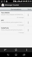 Screenshot of Message Counter