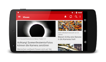 Screenshot of FOCUS Online - Nachrichten
