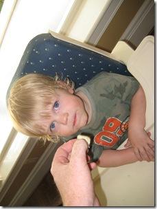 2005--06-15 Pothiers, C&H farewell, grandkids 023