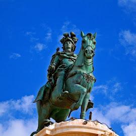 King José I by Paulo Leitão - Buildings & Architecture Statues & Monuments (  )