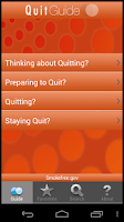 Screenshot of QuitGuide