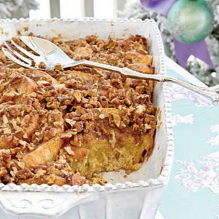 Baked French Toast with Pecan Streusel