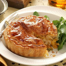 Chicken, Pumpkin And Sage Pies
