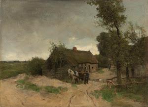 RIJKS: Anton Mauve: painting 1888