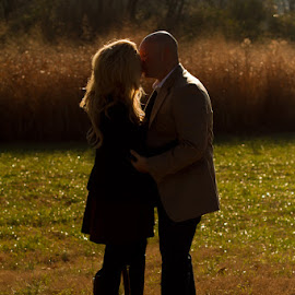 Love in the Shadows by Dana Shaw - People Couples ( dana ruth photo, love, nashville, engagement, couples )
