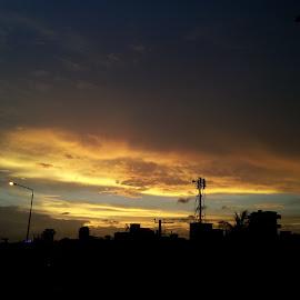 Red Sky by Kazi Kanon - Landscapes Weather ( sky )