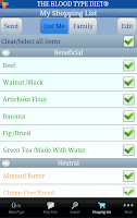Screenshot of The Blood Type Diet®