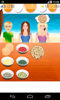 Screenshot of pizza sales games