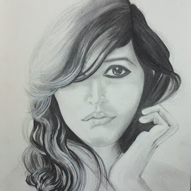 In a snap I caught you by Angvish Shaw - Drawing All Drawing