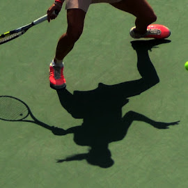 Tennis Player by Lorraine D.  Heaney - Sports & Fitness Tennis
