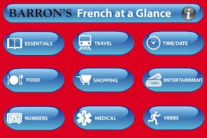Screenshot of French At A Glance Phrasebook