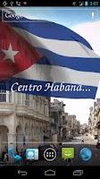 Screenshot of 3D Cuba Flag Live Wallpaper +