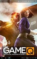 Screenshot of GameQ Magazine