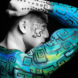 The Great Flex by JD Pascual - People Body Art/Tattoos