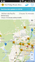 Screenshot of Live Traffic NSW