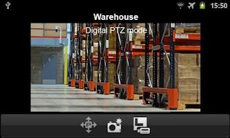 Screenshot of D-ViewCam Mobile